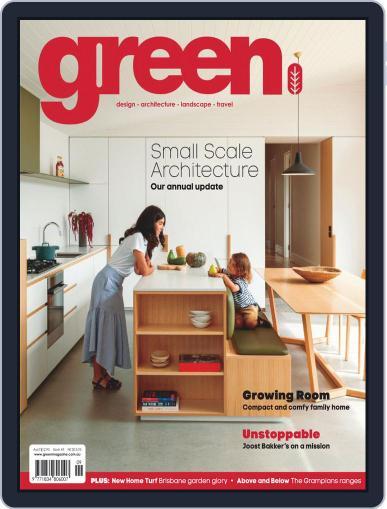 Green (Digital) September 1st, 2019 Issue Cover