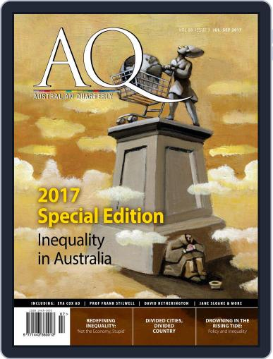 AQ: Australian Quarterly July 1st, 2017 Digital Back Issue Cover