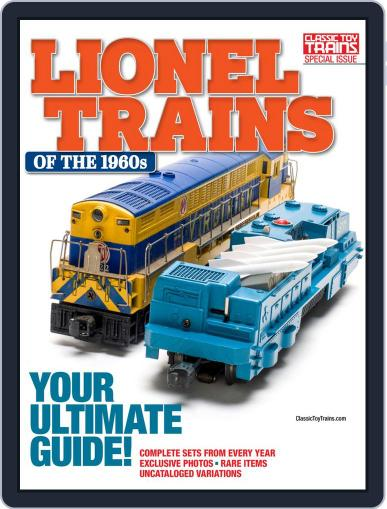 Lionel Trains of the 1960s March 31st, 2020 Digital Back Issue Cover