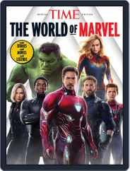 TIME The World of Marvel Magazine (Digital) Subscription April 16th, 2020 Issue
