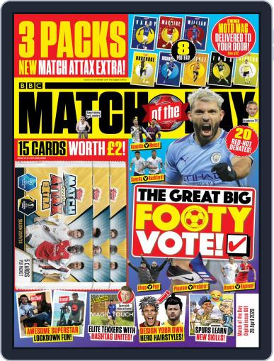 Match Of The Day (Digital) April 28th, 2020 Issue Cover