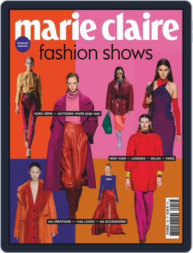 Marie Claire Fashion Shows (Digital) May 1st, 2020 Issue Cover