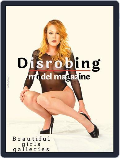 Disrobing model Magazine (Digital) January 1st, 2021 Issue Cover