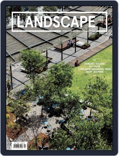 Landscape Architecture Australia (Digital) May 1st, 2020 Issue Cover