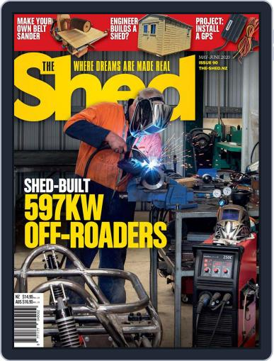 The Shed May 1st, 2020 Digital Back Issue Cover