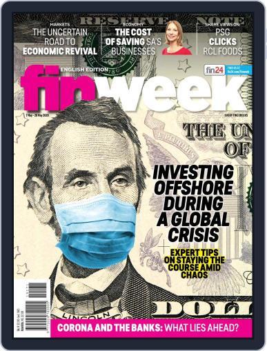 Finweek - English May 7th, 2020 Digital Back Issue Cover