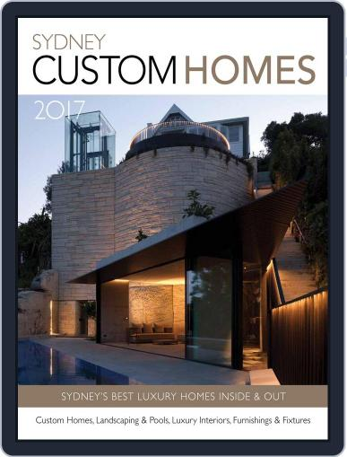 Sydney Custom Homes Magazine (Digital) January 1st, 2017 Issue Cover