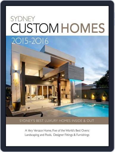 Sydney Custom Homes Magazine (Digital) October 20th, 2015 Issue Cover