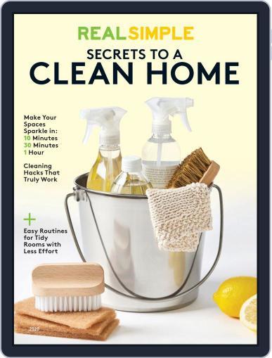 Real Simple Secrets to a Clean Home January 31st, 2020 Digital Back Issue Cover