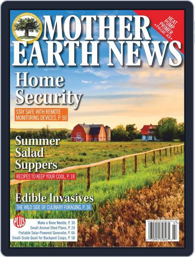MOTHER EARTH NEWS June 1st, 2020 Digital Back Issue Cover