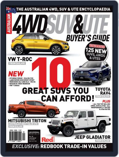 Australian 4WD & SUV Buyer's Guide (Digital) May 1st, 2020 Issue Cover