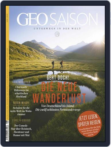 GEO Saison (Digital) June 1st, 2020 Issue Cover