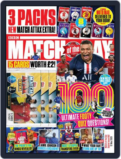 Match Of The Day (Digital) May 12th, 2020 Issue Cover