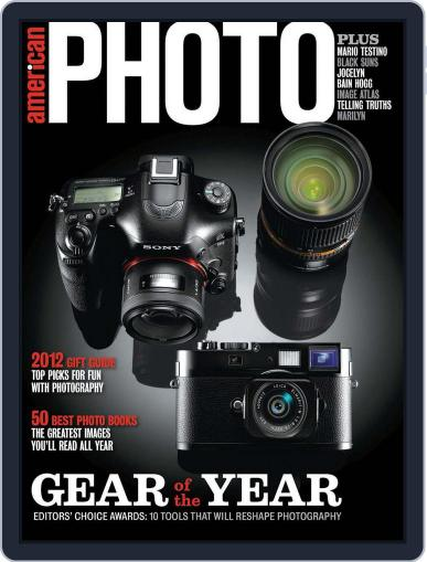 American Photo (Digital) September 29th, 2012 Issue Cover
