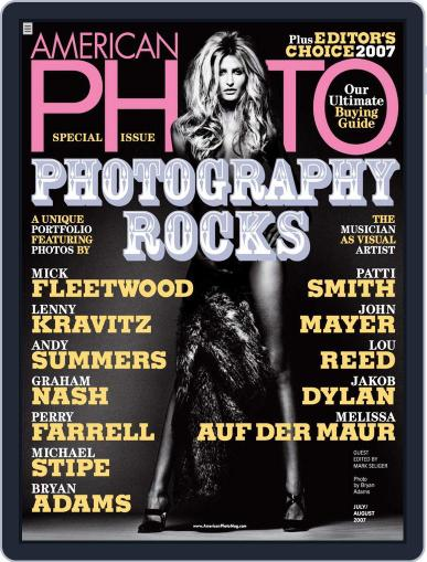 American Photo (Digital) June 12th, 2007 Issue Cover