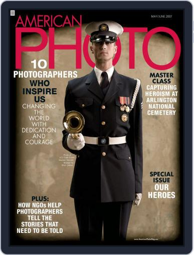 American Photo (Digital) April 10th, 2007 Issue Cover