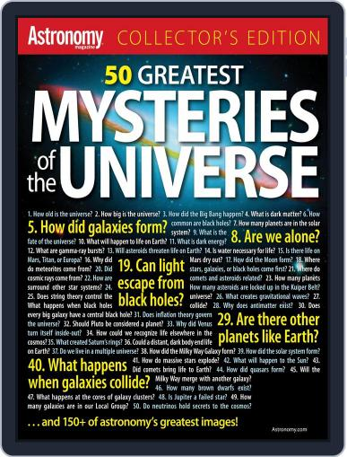 50 Greatest Mysteries In The Universe (Digital) April 16th, 2012 Issue Cover