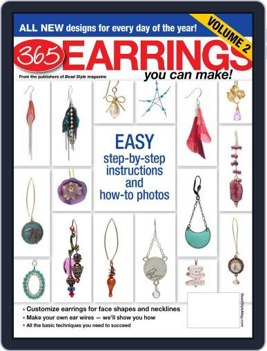 365 Earrings Vol.2 January 11th, 2013 Digital Back Issue Cover