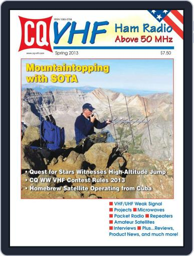 Cq Vhf May 10th, 2013 Digital Back Issue Cover