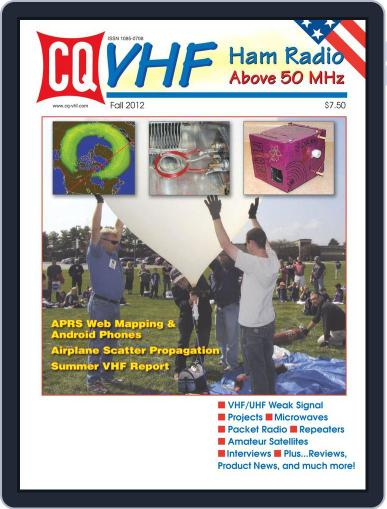 Cq Vhf November 10th, 2012 Digital Back Issue Cover
