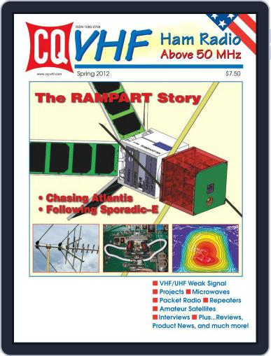 Cq Vhf May 10th, 2012 Digital Back Issue Cover