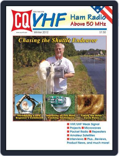 Cq Vhf February 12th, 2012 Digital Back Issue Cover