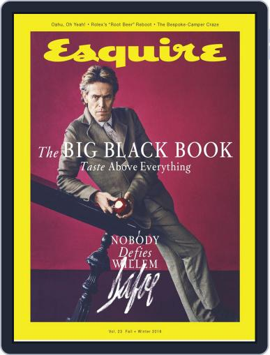 Esquire's Big Black Book September 20th, 2018 Digital Back Issue Cover