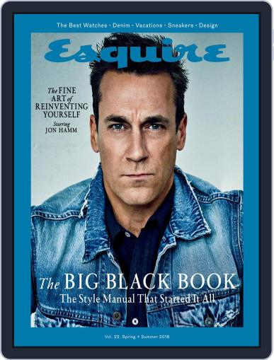 Esquire's Big Black Book March 29th, 2018 Digital Back Issue Cover