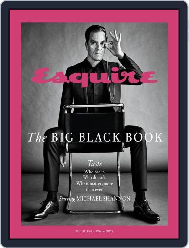 Esquire's Big Black Book September 21st, 2017 Digital Back Issue Cover