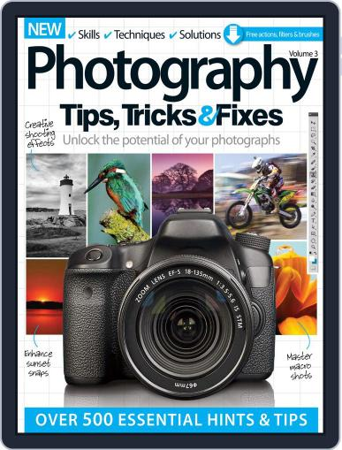 Photography Tips, Tricks & Fixes March 4th, 2015 Digital Back Issue Cover