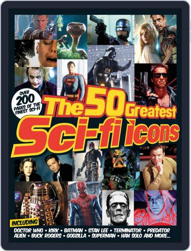 The 50 Greatest SciFi Icons Magazine (Digital) October 11th, 2013 Issue Cover