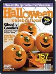 Halloween Celebrations (Digital) Subscription August 25th, 2009 Issue