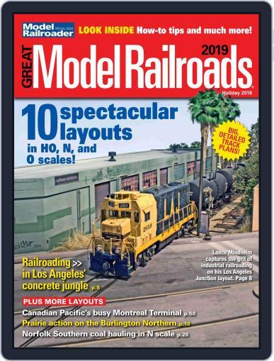 Great Model Railroads Magazine (Digital) September 28th, 2018 Issue Cover