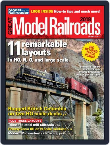 Great Model Railroads Magazine (Digital) September 29th, 2017 Issue Cover