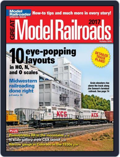 Great Model Railroads Magazine (Digital) January 1st, 2017 Issue Cover