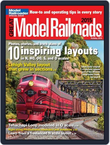Great Model Railroads Magazine (Digital) September 1st, 2014 Issue Cover