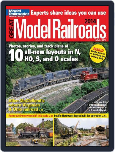Great Model Railroads Magazine (Digital) October 1st, 2013 Issue Cover