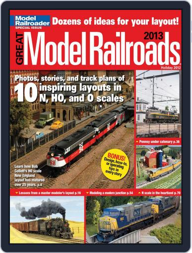 Great Model Railroads Magazine (Digital) October 1st, 2012 Issue Cover
