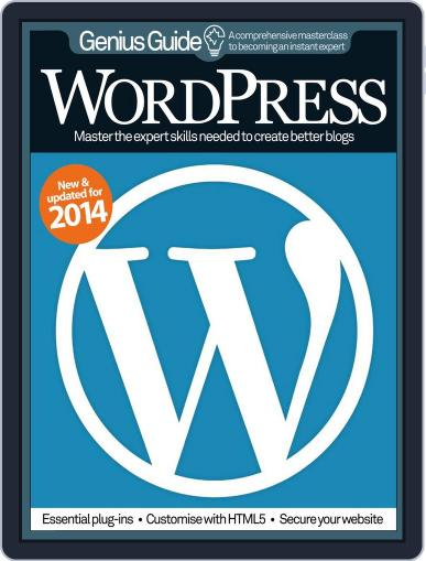 Wordpress Genius Guide Magazine (Digital) January 21st, 2014 Issue Cover