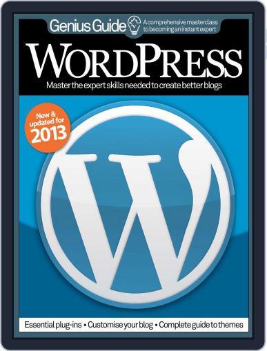 Wordpress Genius Guide Magazine (Digital) January 11th, 2013 Issue Cover