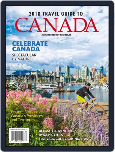 Travel Guide To Canada Magazine (Digital) April 9th, 2018 Issue Cover