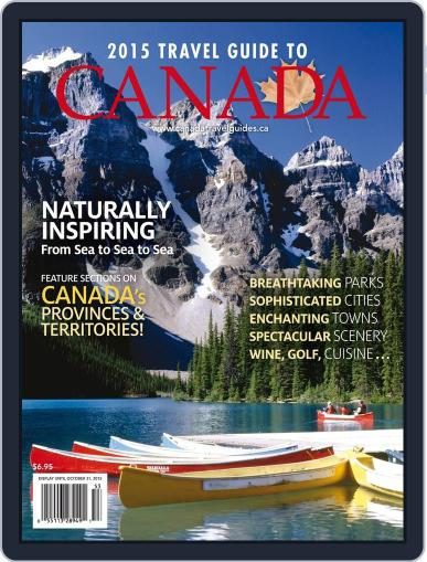 Travel Guide To Canada Magazine (Digital) March 25th, 2015 Issue Cover