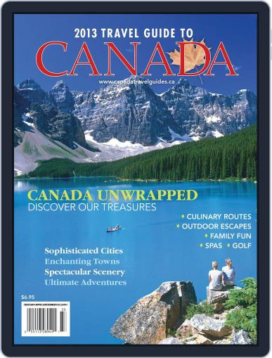 Travel Guide To Canada Magazine (Digital) March 26th, 2013 Issue Cover