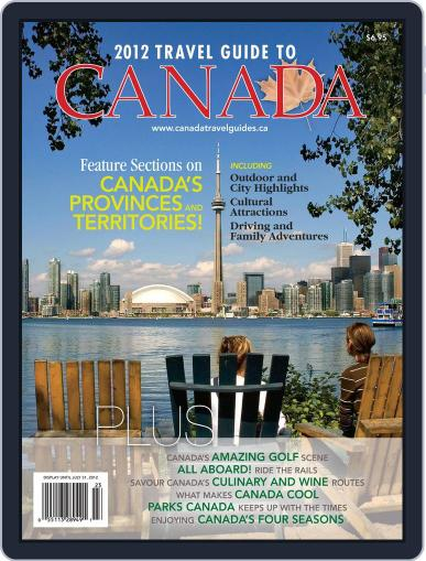 Travel Guide To Canada Magazine (Digital) February 29th, 2012 Issue Cover