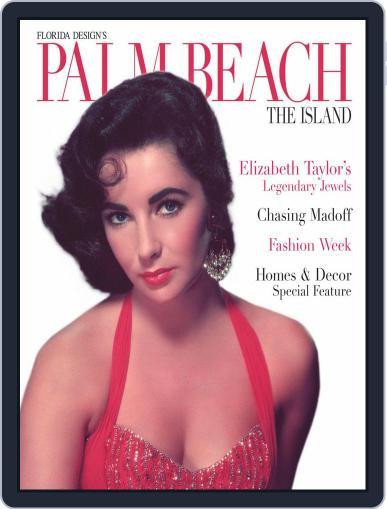 Florida Design's PALM BEACH THE ISLAND Magazine (Digital) December 1st, 2011 Issue Cover