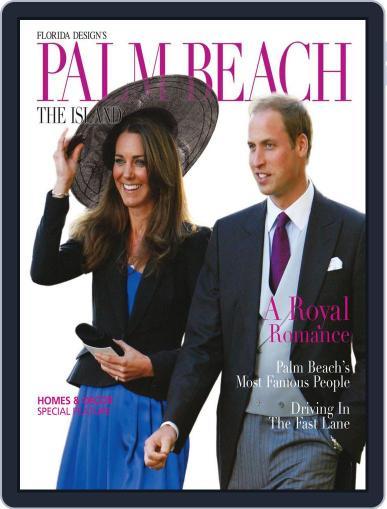 Florida Design's PALM BEACH THE ISLAND Magazine (Digital) March 24th, 2011 Issue Cover