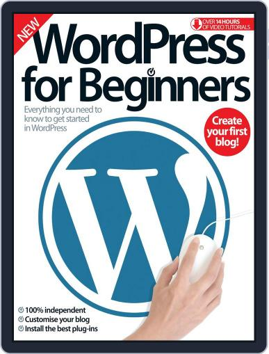 Wordpress For Beginners Magazine (Digital) August 3rd, 2016 Issue Cover