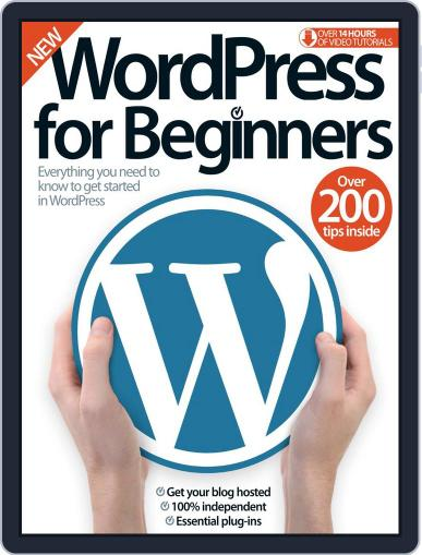 Wordpress For Beginners Magazine (Digital) August 12th, 2015 Issue Cover