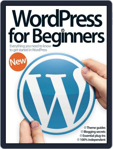 Wordpress For Beginners Magazine (Digital) July 16th, 2014 Issue Cover