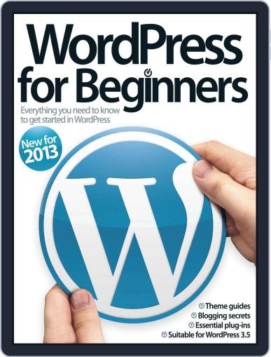 Wordpress For Beginners Magazine (Digital) July 17th, 2013 Issue Cover